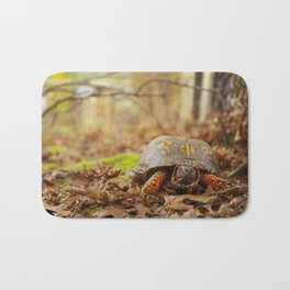 Turtle in the Yard Bath Mat