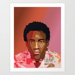 Childish Gambino Art Print