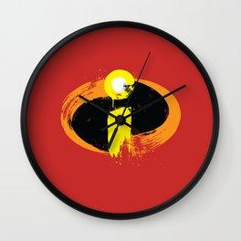 (I)ncredibles Wall Clock