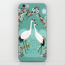 Cranes by Andrea Lauren iPhone Skin