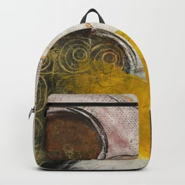 Still Life with Yellow Strip Backpack
