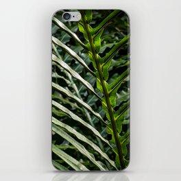 Forest Floor Frond iPhone Skin