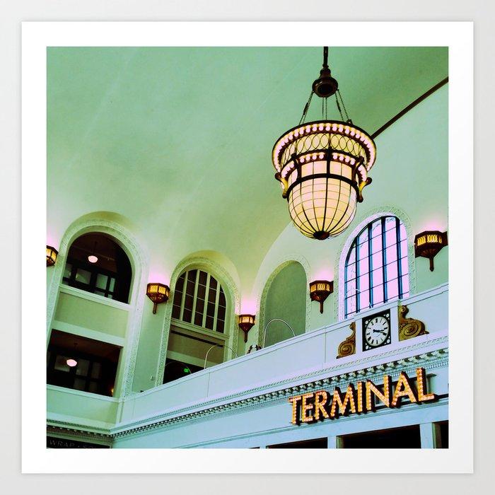 Terminal Art Print