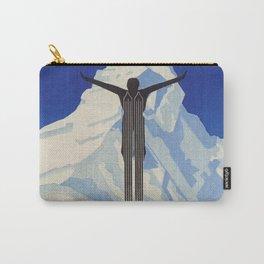 Zermatt, Switzerland Vintage Ski Travel Poster Carry-All Pouch