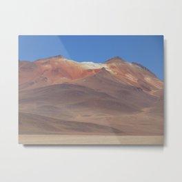 Salar de Uyuni, Bolivian Salt Flats Metal Print