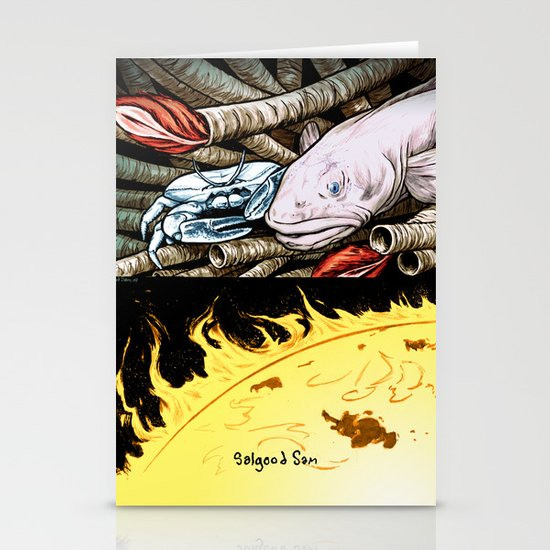 Life on the event horizon 2 Stationery Cards