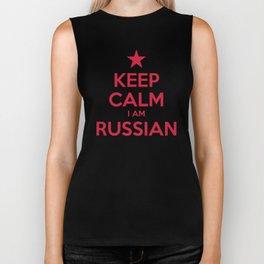 RUSSIA Biker Tank