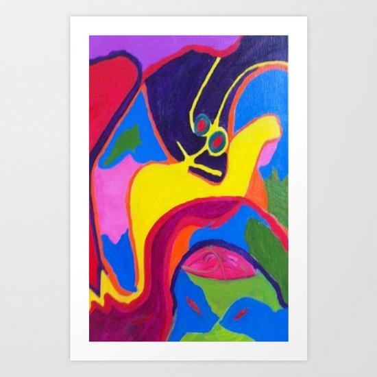Lurking Art Print