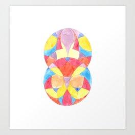 Abstract Symmetrical Art Print Art Print