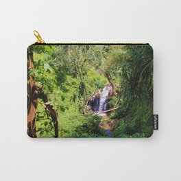 Hidden Waterfall in Forest Carry-All Pouch