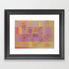 Gold is Good Framed Art Print