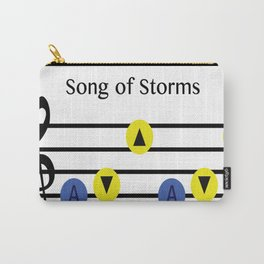 Song Of Storms Carry-All Pouch