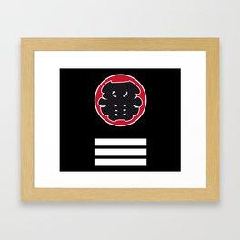 Japanese Firemen Framed Art Print