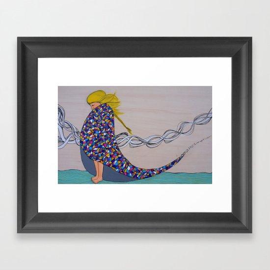 Morning Chill Framed Art Print