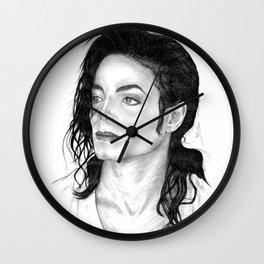 Smooth Criminal Portrait Wall Clock