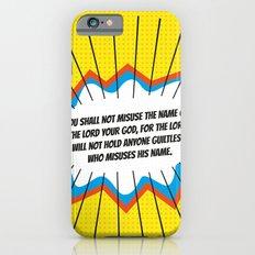 The Third Commandment iPhone 6s Slim Case