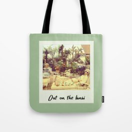 Out On The Lanai Tote Bag