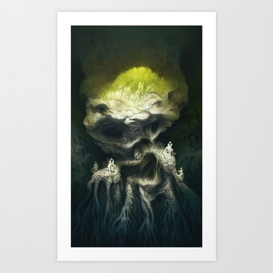 Jöbii Troop Art Print