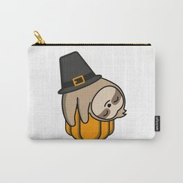 Sloth in Holidays Eve Carry-All Pouch