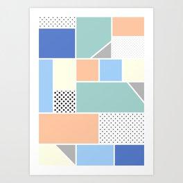 Geometric Calendar - Day 15 Art Print