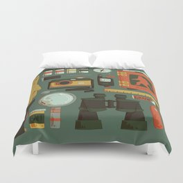Cryptid Hunting Duvet Cover