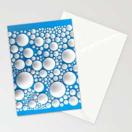 Circle Square Stationery Cards
