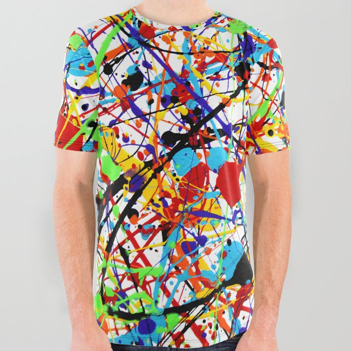 Splat_1_Rainbow_All_Over_Graphic_Tee_by_Sy_Phelan__Large