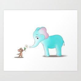 Gifting Kindness Art Print