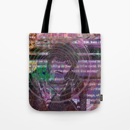 Mange Moi (and An Olde Face In Cyber Hell) [Recombinant Series] Tote Bag