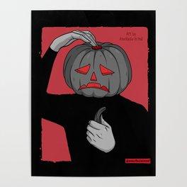 Pumpkin guy Poster