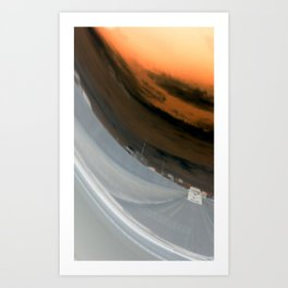 Distorted View Art Print
