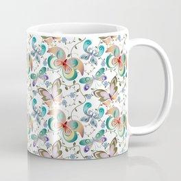 Butterflies In Springtime Coffee Mug