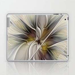 Floral Abstract, Fractal Art Laptop & iPad Skin