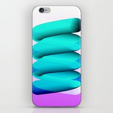 Tubes iPhone & iPod Skin