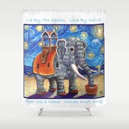 Starry Lu Shower Curtain