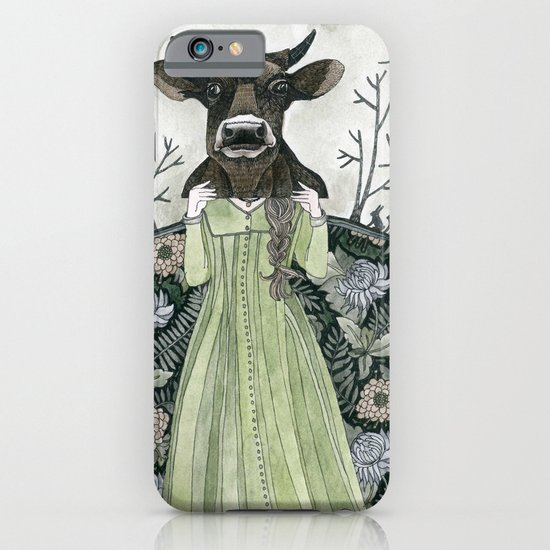 Cow Mask iPhone & iPod Case