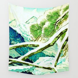 The Winter Green Wall Tapestry