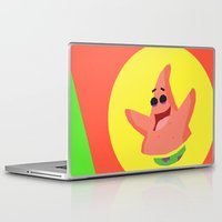 patrick Laptop & iPad Skins featuring Patrick Star by Eyetoheart