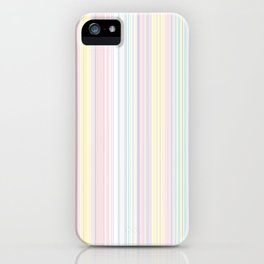 Happy Dream -Elegant Colorful stripe- iPhone Case