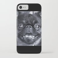 dentist iPhone & iPod Cases featuring I Am Cute And I Know It by Roger Wedegis