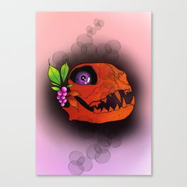 Fossil in heaven Canvas Print