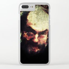 Stanley Kubrick Clear iPhone Case