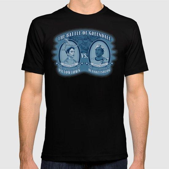 Pillowtown vs Blanketsburg T-shirt
