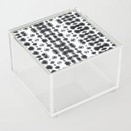 Shibori Ikat Habotoi BW Acrylic Box