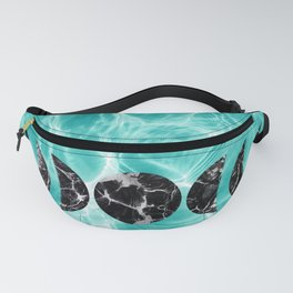 Pool Dream Moon Phases #2 #water #decor #art #society6 Fanny Pack