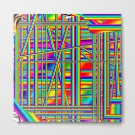 Urban neon Metal Print