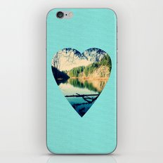 Lost Lake Love iPhone & iPod Skin