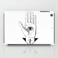 hamsa iPad Cases featuring Hamsa by KPapparel