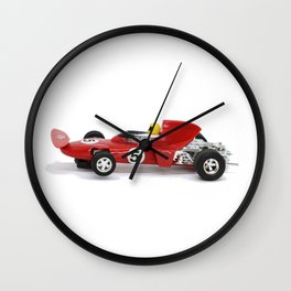 Red Racer  Wall Clock