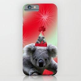 Christmas Koala iPhone Case